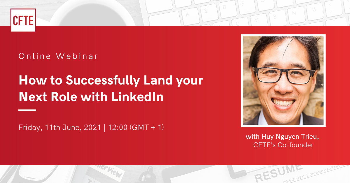 Online Webinar - How to Successfully Land your Next Role with LinkedIn